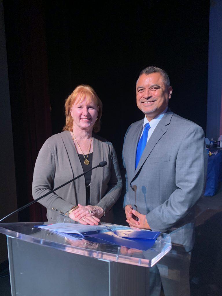 Dr. Colleen Robertson & Dr. Ramon Flores